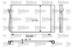 Chłodnica klimatyzacji - skraplacz VALEO 817850 VALEO 817850