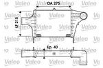 Chłodnica powietrza doładowującego - intercooler VALEO 817896 VALEO 817896