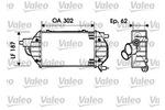 Chłodnica powietrza doładowującego - intercooler VALEO  817900