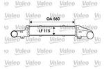Chłodnica powietrza doładowującego - intercooler VALEO 817907 VALEO 817907
