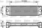 Chłodnica powietrza doładowującego - intercooler VALEO 817994 VALEO 817994