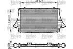 Chłodnica powietrza doładowującego - intercooler VALEO 817998 VALEO 817998