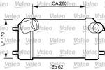 Chłodnica powietrza doładowującego - intercooler VALEO 818826 VALEO 818826