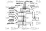 Przełącznik kolumny kierowniczej VALEO 251387 VALEO 251387