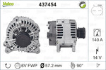 Alternator VALEO 437454