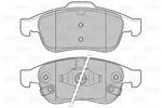 Klocki hamulcowe - komplet VALEO  601480 (Oś przednia)
