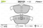 Klocki hamulcowe - komplet VALEO 302121 VALEO 302121