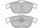 Klocki hamulcowe - komplet VALEO  601051 (Oś tylna)-Foto 2