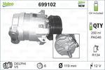 Kompresor klimatyzacji VALEO 699102