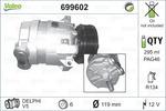 Kompresor klimatyzacji VALEO 699602