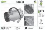 Kompresor klimatyzacji VALEO 699748