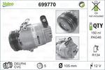 Kompresor klimatyzacji VALEO 699770