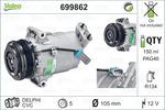 Kompresor klimatyzacji VALEO  699862-Foto 2