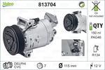 Kompresor klimatyzacji VALEO CZĘŚĆ REGENEROWANA 813704