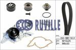 Zestaw paska rozrządu + pompa wody RUVILLE  55490712