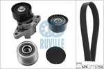 Zestaw paska klinowego wielorowkowego RUVILLE 5560680 RUVILLE 5560680
