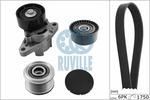 Zestaw paska klinowego wielorowkowego RUVILLE 5560681 RUVILLE 5560681