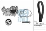 Zestaw paska rozrządu + pompa wody RUVILLE  55622702
