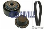 Zestaw paska klinowego wielorowkowego RUVILLE 5563080 RUVILLE 5563080