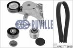 Zestaw paska klinowego wielorowkowego RUVILLE  5573180