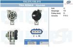 Alternator BV PSH 155.575.150.415 BV PSH 155.575.150.415