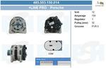 Alternator BV PSH 485.503.150.014 BV PSH 485.503.150.014