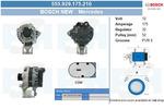 Alternator BV PSH 555.929.175.210 BV PSH 555.929.175.210