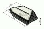 Filtr powietrza BOSCH  F 026 400 509-Foto 5