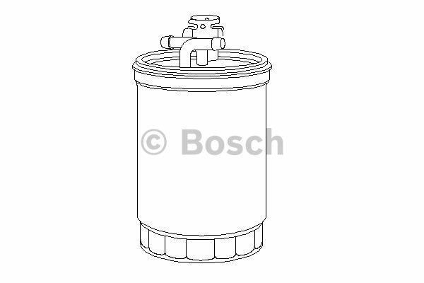 Filtr paliwa BOSCH (0450906459)