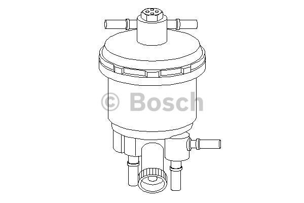Filtr paliwa BOSCH (0450907001)