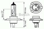 Żarówka reflektora BOSCH 1987302042