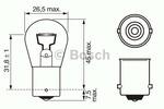 Żarówka światła cofania BOSCH 1987302201