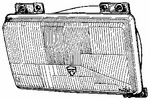 Reflektor VAN WEZEL 1745952 VAN WEZEL 1745952
