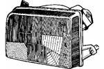 Reflektor VAN WEZEL 1895941 VAN WEZEL 1895941