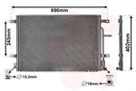 Chłodnica klimatyzacji - skraplacz VAN WEZEL 03005238 VAN WEZEL 03005238