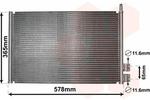 Chłodnica klimatyzacji - skraplacz VAN WEZEL  18005328