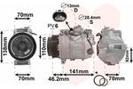 Kompresor klimatyzacji VAN WEZEL  3000K091-Foto 2