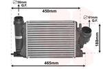 Chłodnica powietrza doładowującego - intercooler VAN WEZEL 33014701 VAN WEZEL 33014701