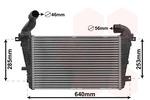 Chłodnica powietrza doładowującego - intercooler VAN WEZEL 37004416 VAN WEZEL 37004416
