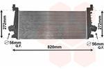 Chłodnica powietrza doładowującego - intercooler VAN WEZEL 37004640 VAN WEZEL 37004640