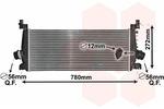 Chłodnica powietrza doładowującego - intercooler VAN WEZEL 37004647 VAN WEZEL 37004647