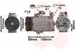 Kompresor klimatyzacji VAN WEZEL 3700K316 VAN WEZEL 3700K316