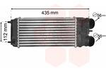 Chłodnica powietrza doładowującego - intercooler VAN WEZEL 40004353 VAN WEZEL 40004353