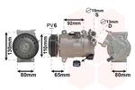 Kompresor klimatyzacji VAN WEZEL  4001K703