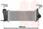 Chłodnica powietrza doładowującego - intercooler VAN WEZEL 43004615 VAN WEZEL 43004615
