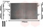 Chłodnica klimatyzacji - skraplacz VAN WEZEL  43005382-Foto 3
