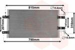 Chłodnica klimatyzacji - skraplacz VAN WEZEL  43005451