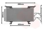 Chłodnica klimatyzacji - skraplacz VAN WEZEL 51015701