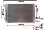 Chłodnica klimatyzacji - skraplacz VAN WEZEL  58005209