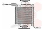 Chłodnica powietrza doładowującego - intercooler VAN WEZEL 82004359 VAN WEZEL 82004359